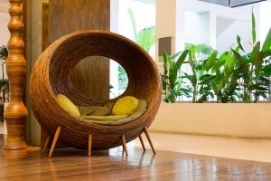 Wicker-Chair