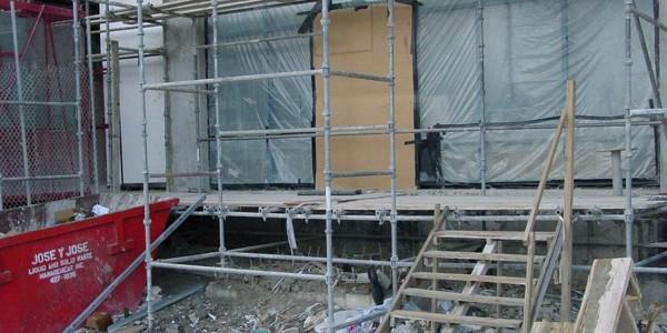 Demolition Of Equipment