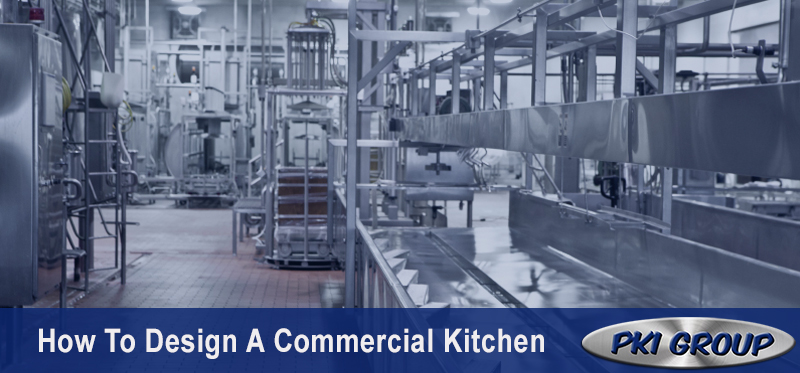 how to design a commercial kitchen