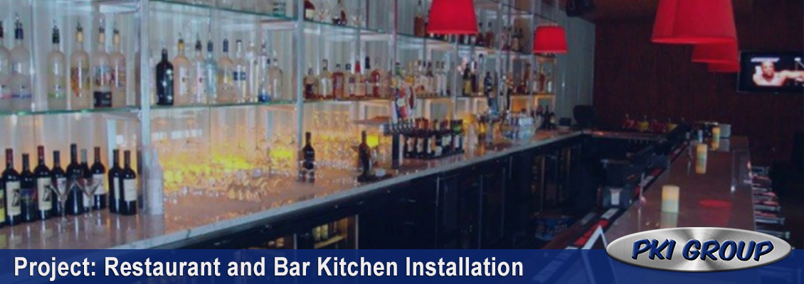 Restaurant & Bar Installation