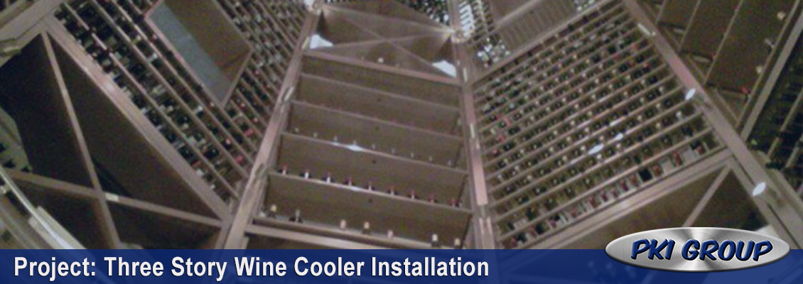 Wine Cooler Installation