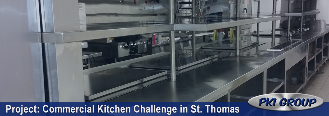 Commercial Kitchen Challenge St. Thomas
