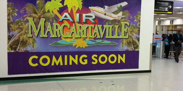 Margaritaville Commercial Installation Miami Airport