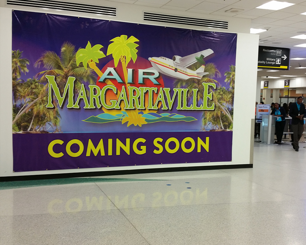 Margaritaville Commercial Installation