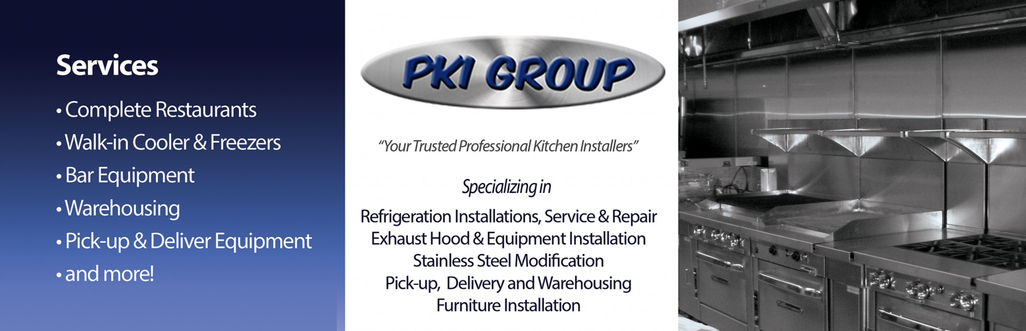 Commercial Kitchen Installers Miramar Fl