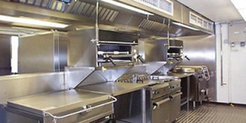 Commercial Kitchen Exhaust Hood Installation