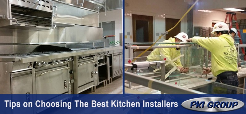 Tips On Choosing The Best Kitchen Installers