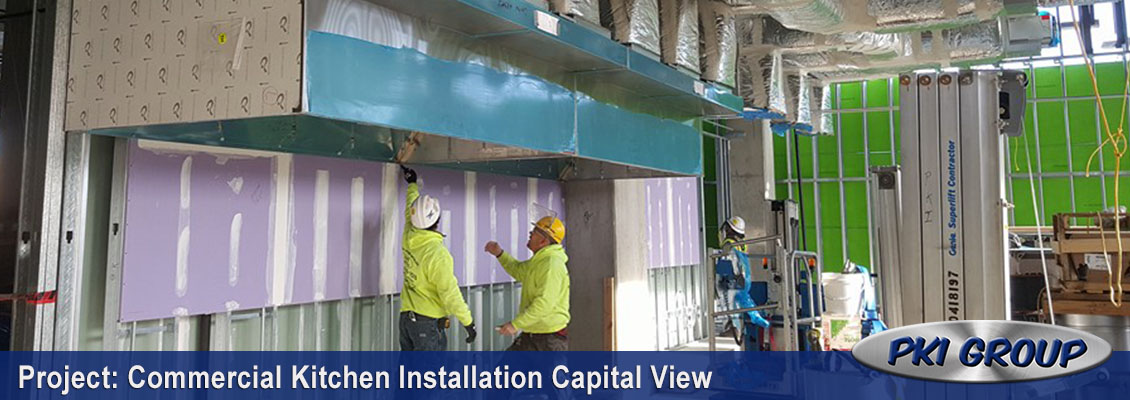 Capital View Commercial Kitchen Installation