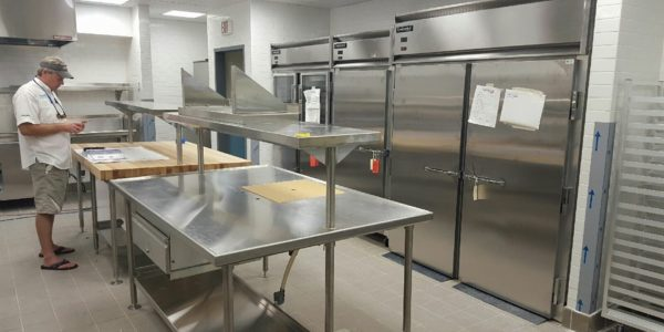St Croix Commercial Kitchen Installation