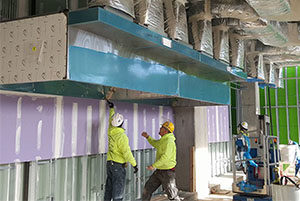 commercial kitchen hood installation