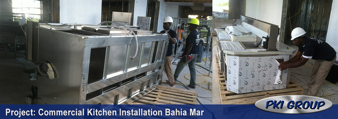 Bahia Mar Golf Clubhouse Kitchen Installation