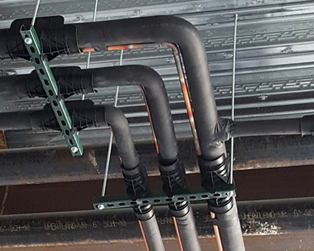 Pipe Insulation Installers & Insulator Installing Fiberglass