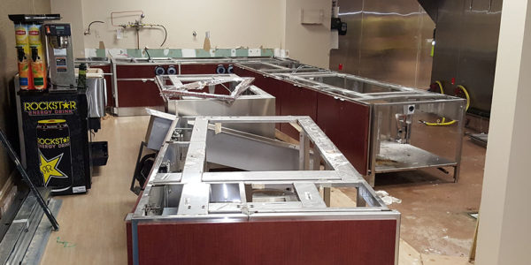Hospital Kitchen Installation