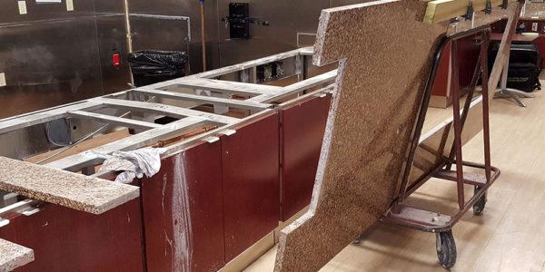 Hospital Kitchen Installation
