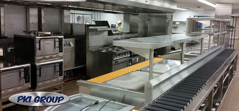 Restaurant Kitchen Vent Hood Interior Design