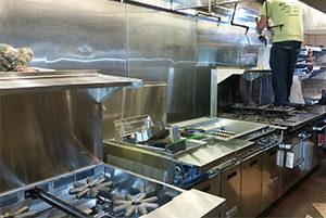 Restaurant Vent Hood Installation