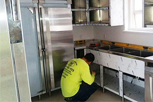 Commercial Kitchen Equipment Installer