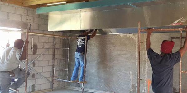 Bahamas Commercial Hood Installation