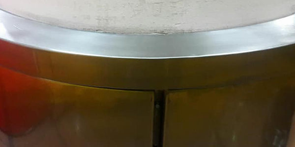 The PKI Group Stainless Steel Column Cover Installation