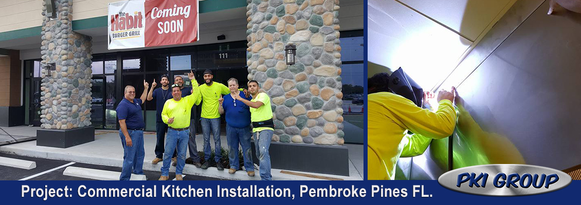 The PKI Group Complete Commercial Kitchen Installation