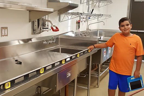 complete commercial kitchen installation