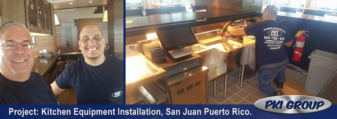 Kitchen Equipment Installation By The Pki Group
