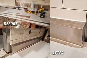 Commercial Kitchen Stainless Steel Welding Repair