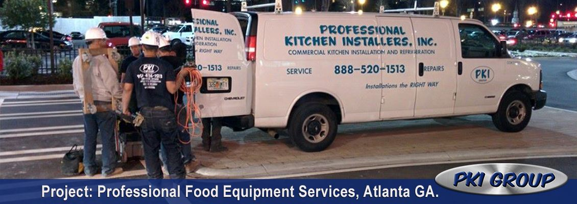 Professional Food Equipment Services