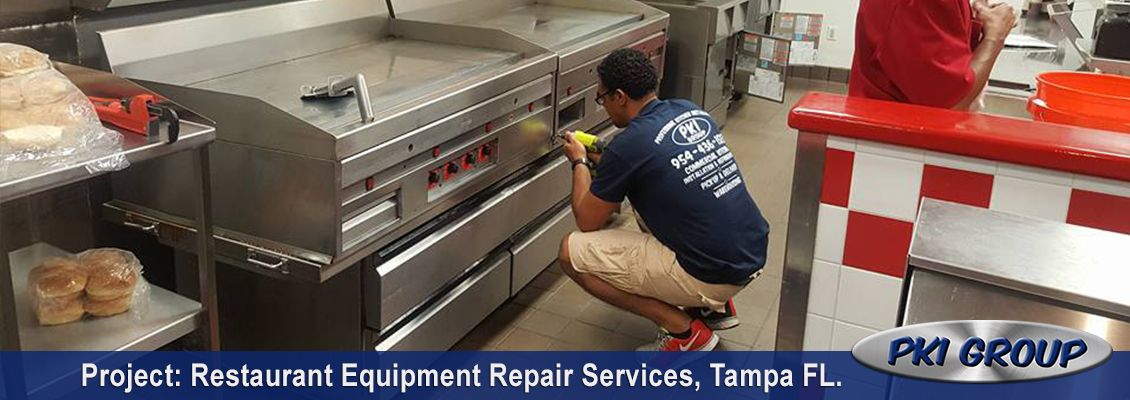 Restaurant Equipment Repair Services
