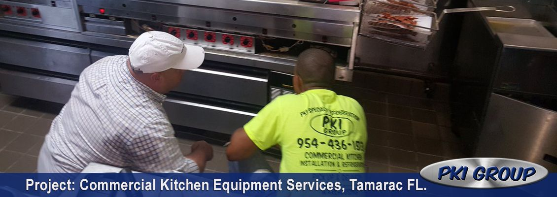 Commercial Kitchen Equipment Services