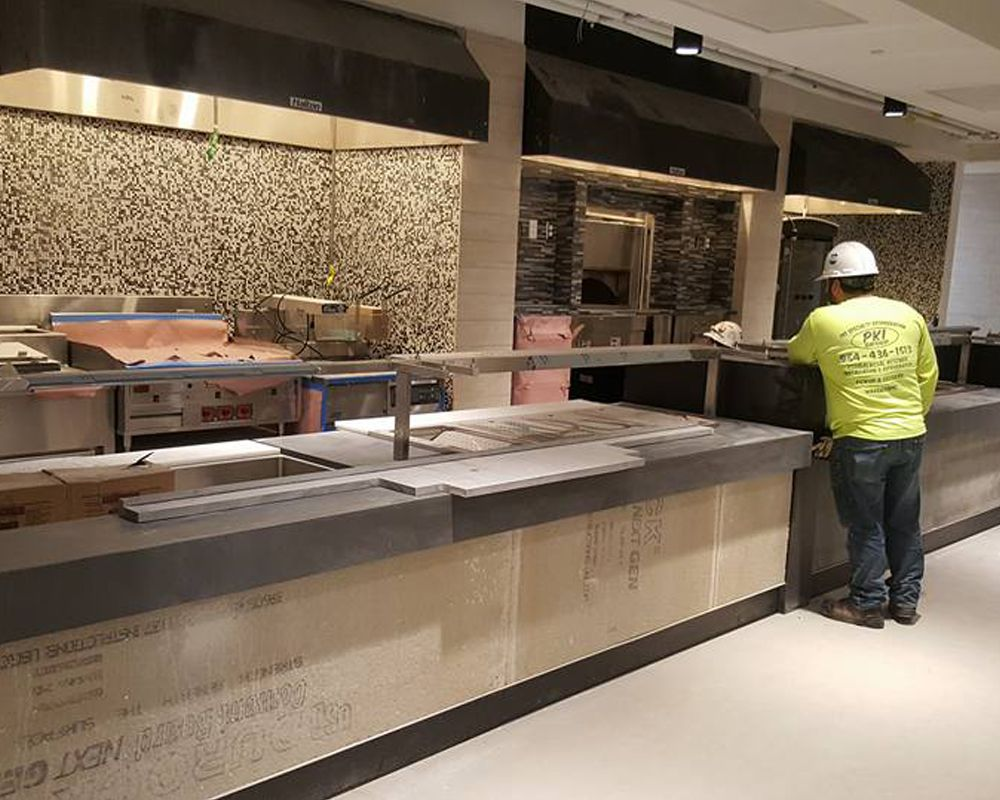 Commercial Refrigeration Kitchen Installations The Pki Group