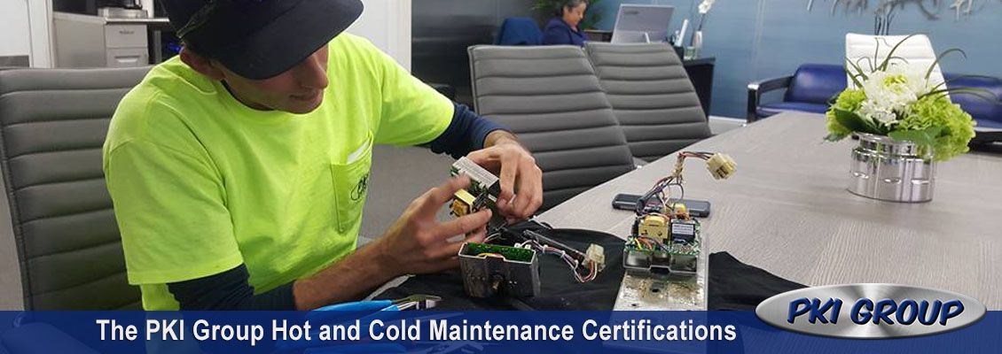 The Pki Group Hot And Cold Maintenance Certifications