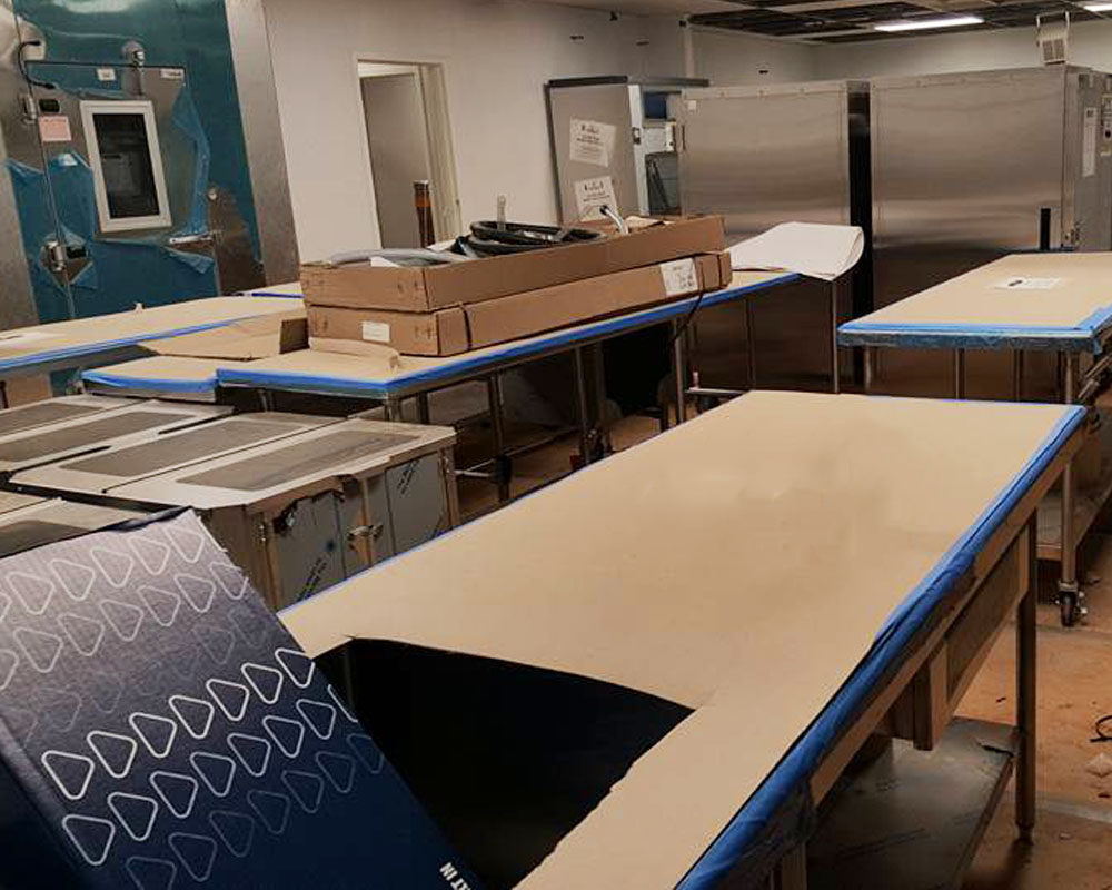 The Pki Group New Kitchen Equipment Installation
