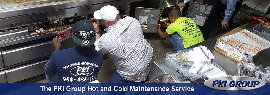 The PKI Group Hot and Cold Maintenance Service