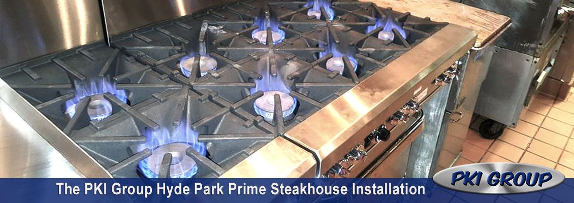 The PKI Group Hyde Park Prime Steakhouse Equipment Installation
