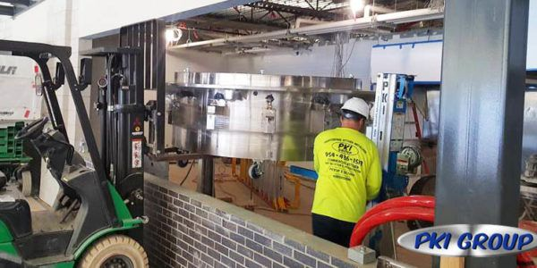 Restaurant Commercial Equipment Installation