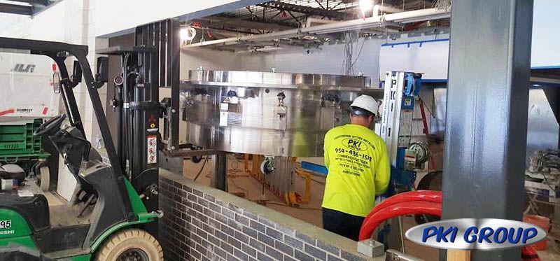 Restaurant Commercial Equipment Installation