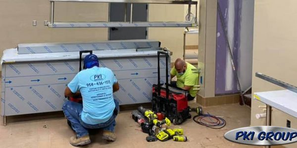 Commercial Kitchen Installation Tampa Florida