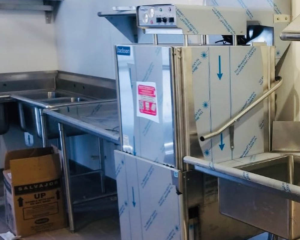 Bar Equipment And Freezer Panels Installation